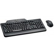Kit Tastatura si Mouse Kesington Pro Fit, Wireless (Negru)