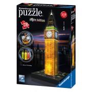 Ravensburger 12588 - Big Ben Night Edition Puzzle 3D Building con LED