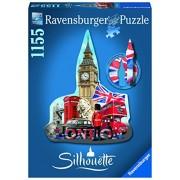 Ravensburger - 16155 - Puzzle Classique - Big Ben Silhouette - 1155 Pièces