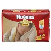 Huggies Little Snugglers Diapers Preemies 30 Count