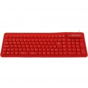 Tastatura Esperanza Silicon USB EK126R Red