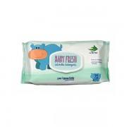 Baby fresh - salviettine detergenti baby pop-up con aloe vera 72 pz
