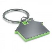 IMBA ház alakú műanyag kulcstartó