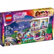 LEGO Friends Casa vedetei pop Livi 41135