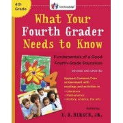 What Your Fourth Grader Needs to Know by E D Hirsch