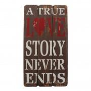 Afbeelding True Love Story - grijs, My Flair