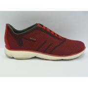 Geox Sneakers uomo casual black/red