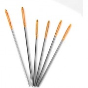 6pcs Large-Eye Blunt Point Tapestry Needles Hand Sewing Needles