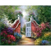 Royal & Langnickel Paint Your Own Masterpiece Painting Set Garden Gate