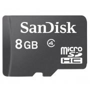 SanDisk - Carte mémoire flash - 8 Go - Class 2 - microSDHC - noir