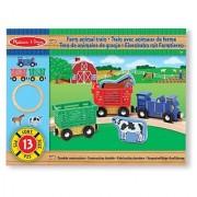 Melissa & Doug - 10644 - Farm Animal Train Set