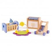 Hape E3459 Set arredi camera del bambino per bambole