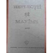 Reflectii Si Maxime Vol.2 - Constantin Badescu