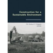 Construction for a Sustainable Environment by Robert Sarsby