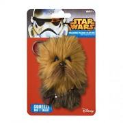 Star Wars the Clone Wars Talking Plush Clipon Chewbacca, Multi Color (4-inch)