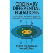 Ordinary Differential Equations by M. Tenenbaum