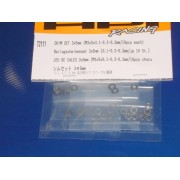 HPI 72111 Shim Set 3 x 5mm 0.1, 0.2 and 0.33 mm thick
