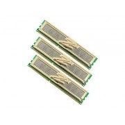 OCZ Gold XTC Triple Channel Kit - DDR3 - 3 Go : 3 x 1 Go - DIMM 240 broches - 1600 MHz / PC3-12800 - CL8 - 1.65 V - mémoire sans tampon - NON ECC