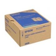 TWIN PACK CARTUS TONER CYAN C13S050608 ( 2bucX7500pg) ORIGINAL EPSON ACULASER C9300N