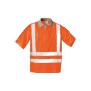 E/D/E Logistik-Center Warnschutzpoloshirt Uwe orange Größe:L