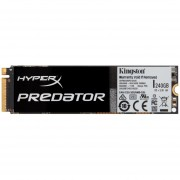 "Disco Estado Solido Kingston Digital HyperX Predator SHPM2280P2/240G, 240GB, PCIe, 3.5"""