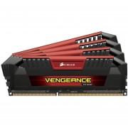 Corsair Vengeance Pro Series - 32GB (4 x 8GB) DDR3 DRAM 1600MHz C9 Memory Kit - 32 GB (4 x 8 GB) - DDR3 SDRAM - 1600 MHz DDR3-1600/PC3-12800 - 1.50 V - 240-pin - DIMM - CMY32GX3M4A1600C9R