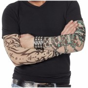 Doodskop tattoo mouwen