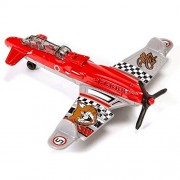 AIR BLITZ (ALLEY CAT #5) * MBX ON A MISSION * 2014 MATCHBOX Sky Busters Series Die-Cast Airplane by Matchbox