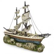 EBI Boat with Sails 38 x 12,5 x 31,5cm
