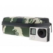 Legergroen opbergtasje voor GoPro camera