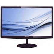 Philips 27 LED monitor 1920x1080 FullHD 16:9 2ms Smart Response 250cd/m2 20 000 000:1, VGA/DVI-D/MHL-HDMI, Speakers