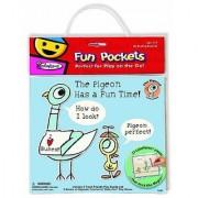 Colorforms Fun Pockets The Pigeon Fun Pocket
