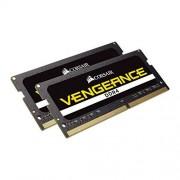 Corsair CMSX8GX4M2A2666C18 Vengeance 8GB (2x4GB) DDR4 2666Mhz Mémoire Pour Ordinateur Portable SODIMM (260 Pin) Noir