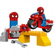 Duplo - Spider-man webmotor werkplaats