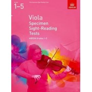 Viola Specimen Sight-reading Tests, ABRSM Grades 1-5 by ABRSM