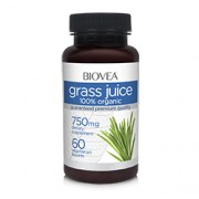 GRASS JUICE (Organic Wheat Grass, Alfalfa Grass & Barley Grass) 750mg 60 Tablets