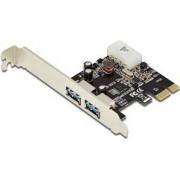 DIGITUS Carte PCIE 2 PORT USB 3.0