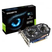 Placa video Gigabyte GeForce GTX 750 Ti Windforce, PCI Express 3.0, 1033 (1111)/5400 MHz, 2GB GDDR5, 128-bit, HDMI, 2x DVI