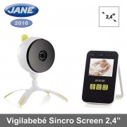 """Jane vigilabebé 59 canales Sincro Screen 2,4"""" modelo 2016"""