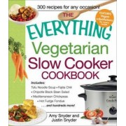 Everything Vegetarian Slow Cooker Cookbook by Amy Snyder