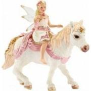 Figurina Schleich Delicate Lily Elf On Pony