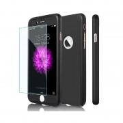 Husa Iphone 7 Full Cover 360, Negru
