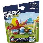 SMURFS 2 Micro Figure 3 Pack: Smurf Papa Smurf Smurfette