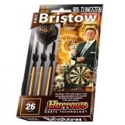 Set sageti Eric Bristow Gold Steel