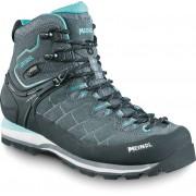 Meindl W's Litepeak GTX Shoes Anthracite/Turquoise 2017 UK 6,5 Vandringskängor