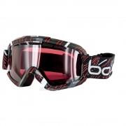Masque Bolle Nova Ii Shiny Black Red Vermillon Gun - Sans