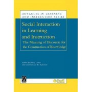 Social Interaction in Learning and Instruction by H. Cowie