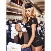 Еротичен костюм Sexy Stewardess M/L