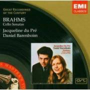 Jacqueline Du Pre - Brahms - Cello Sonatas (0724356274129) (1 CD)