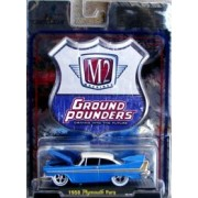 Ground Pounders 1958 Plymouth Fury 1:64 Scale Diecast Car